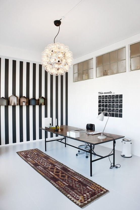 How To Make Funky Workspace Style Inspiration - http://www.dailywomanmag.com/wedding-ideas/how-to-make-funky-workspace-style-inspiration.html