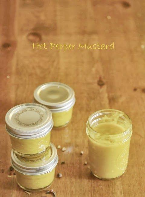 Banana Pepper Honey Mustard http://www.mycatholickitchen.com/2013/08/banana-pepper-honey-mustard.html