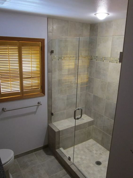Bathroom Small Built In Ceramic Shower Bench Seat For Narrow Shower Spaces Ideas Bv Master