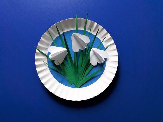 Jak Zrobic Przebisniegi Z Papieru Mothers Day Crafts Papercrafting Gifts Paper Crafts