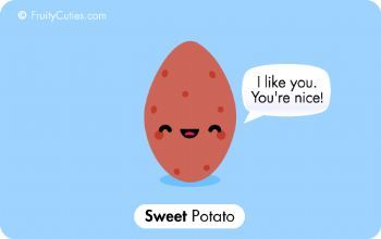 That's one SWEET potato! ;-) #funny #humor #food: