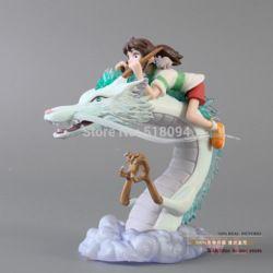 Online Shop Frete Grátis Hayao Miyazaki A Viagem de Chihiro PVC Action Figure Toy MHFG010|Aliexpress Mobile