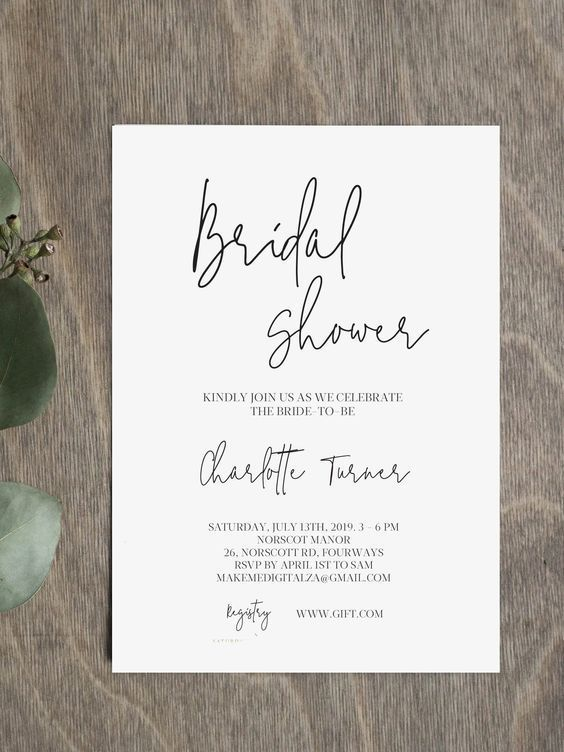 Eucalyptus Geometric Bridal Shower Invitation Bridal Eucalyptus Geomet In 2020 Bridal Shower Invitations Diy Bridal Shower Invitations Templates Bubbly Bridal Shower