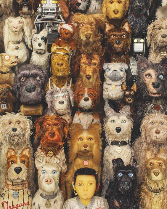 Isle Of Dogs Ilha De Cachorros Filmes Animacao