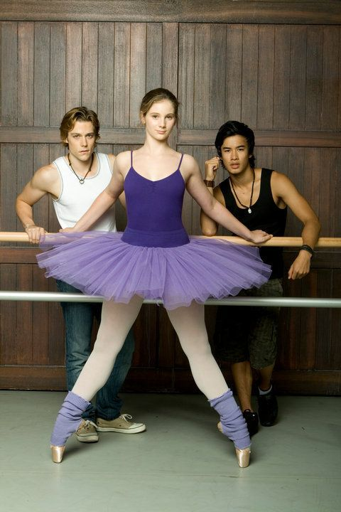 Xenia Goodwin, Tim Pocock and Jordan Rodrigues for Dance Academy