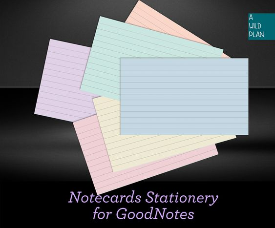 Goodnotes Index Cards Digital Notecards For Studying Flash Cards Study Cards Digital Download Study Aid Study Cards Flashcards Note Cards