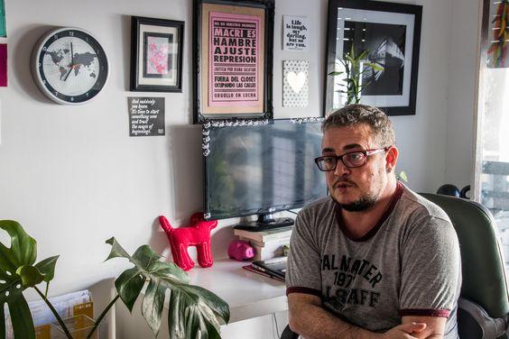 Mauro Cabral. Foto: Camilia Rojas