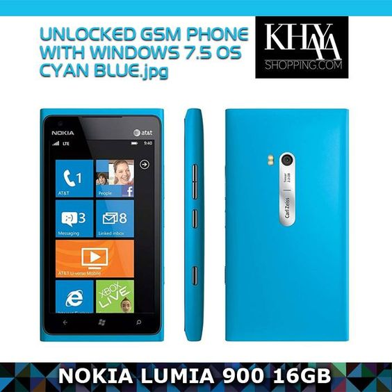 The Nokia Lumina 900 smartphone is packed with innovations to make life better!   Browse www.khayashopping.com or visit our store in Westgate Mall, #Harare.