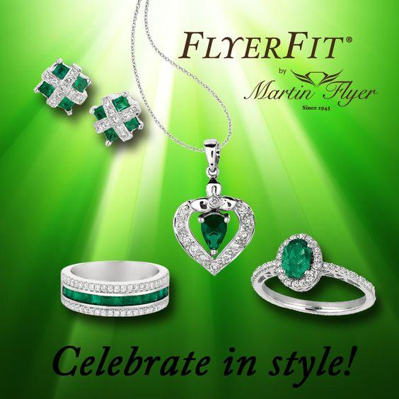 Go Green! Exclusively at #Capri #Jewelers #Arizona ~ www.caprijewelersaz.com  ♥