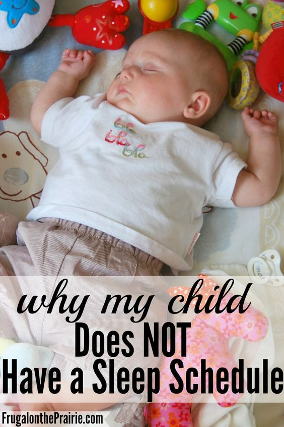 Like other areas of these parenting books, my child just doesn't fit into the mold. Read to find out why my child does NOT have a sleep schedule.