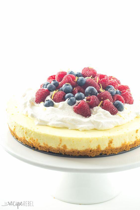 Lemon Cheesecake | Recipe | No Bake Lemon Cheesecake, Lemon Cheesecake ...