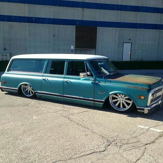 Classic Chevy Suburban..