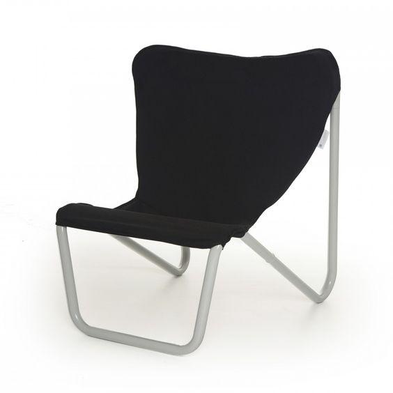 Lekker buiten zitten in deze relaxstoel