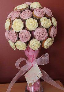 buque cupcakes redondo