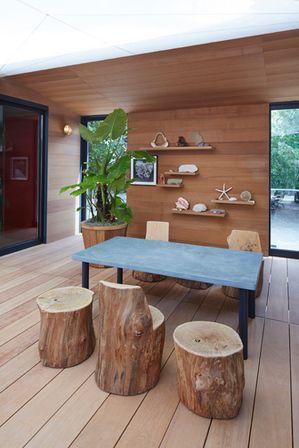 charlotte perriand, la maison au bord de l'eau, 1934 | a casa foi contruída pela louis vuitton para a design miami 2013