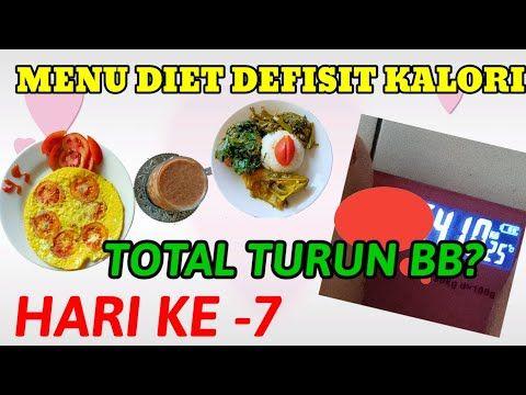 Menu Diet Defisit Kalori Selama Semingu Total Turun Berat Badan Diet Defisit Kalori Selama Seminggu Youtube Ide Makanan Makanan Diet Makanan