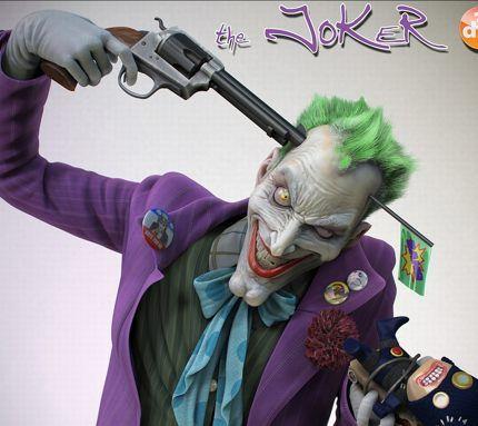 Joker gun to head
