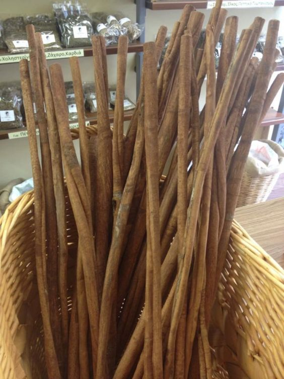 Long Cinnamon Sticks From Indonesia - 50cm by Armenos Spices n Herbs on Gourmly