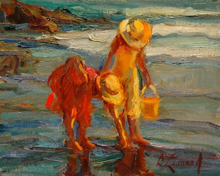 Finding Shells - Copyright  Diane Leonard, http://www.dianeleonard.com