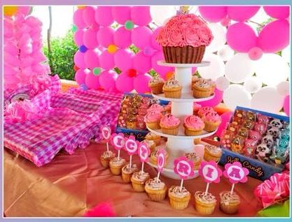 Decoracion mesa de dulces party candy decoracion party for Decoracion mesas dulces