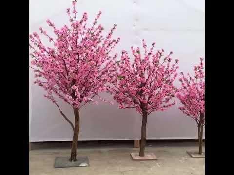 Artificial Cherry Blossom Flower Trees For Wedding Youtube Artificial Cherry Blossom Tree Flowering Trees Blossom Flower