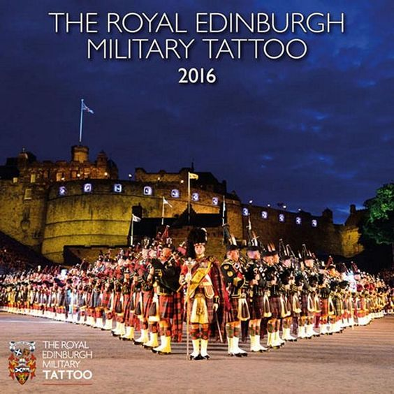 Royals calendars 2016 and edinburgh military tattoo on for Royal military tattoo