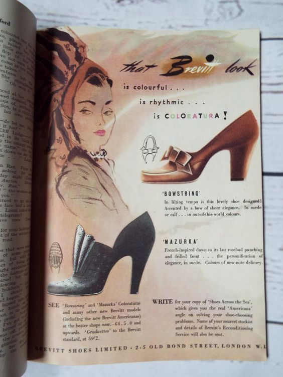 British Vintage Housekeeping magazine  September 1949  Features beautiful adverts and fun articles about love, life and cooking It is in good