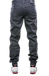 Dirty Robbers Denim Co. The Ford Jogger in Dark Charcoal Denim