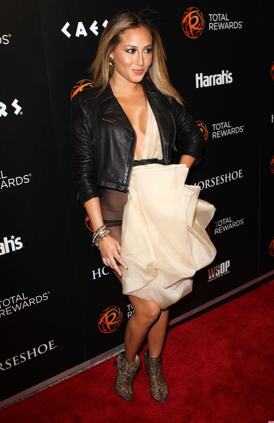 Polished Adrienne Bailon ...  Grand Dame...   While working on the album, both Bailon and Williams signed on to star in the Disney channel film The Cheetah Girls.