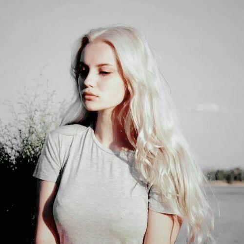 Pin By 𝓘𝔫𝔡𝔦𝔢 On Random White Blonde Hair White