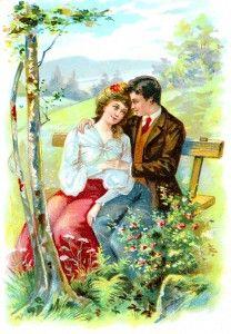 valentine victorian images
