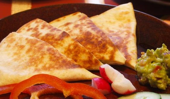 Easy mexican cheese quesadilla recipe