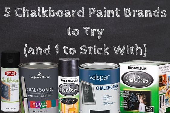 Chalkboard Paint Chalkboards And Paint On Pinterest