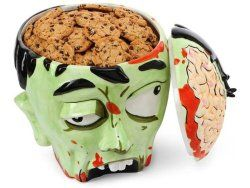 Zombie Head Cookie Jar by ThinkGeek