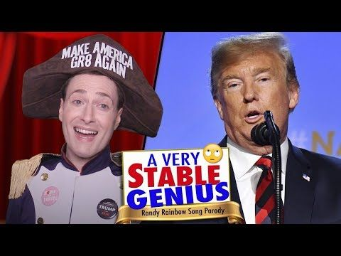 Randy Rainbow Has Released A New Song A Parody Of I Am The Very Model Of A Modern Major General From Gilbert And Sullivan Parody Songs Rainbow Songs Parody