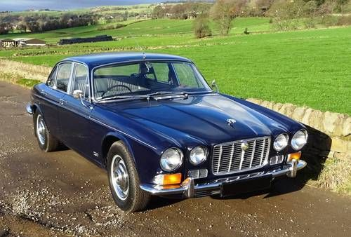 1972 K Jaguar Xj6 Series One 4 2 Litre Automatic Dark Blue And