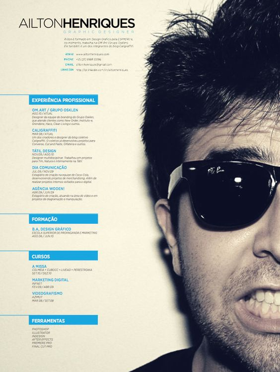 17 Best images about GT opgave on Pinterest Cool resumes - graphic artist resume