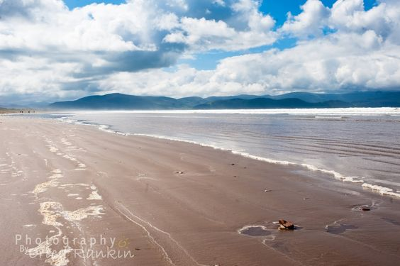 Inch Beach, Ireland. The only place on earth that brought tears to my eyes from sheer beauty.