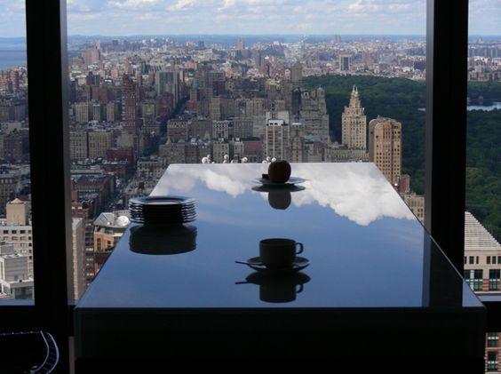 DREAM HOME WITH A VIEW: A pied-à-terre over Central Park. 6/1/2012 via @Yatzer