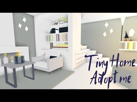 Tiny House Adopt Me Speed Build House Tour Youtube In 2020 Home Roblox Tiny House Design Simple Bedroom Design