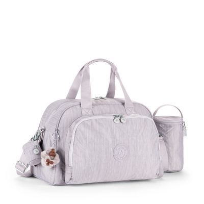 kipling baby bag-CAMAMA- yes please in Dazz gray!