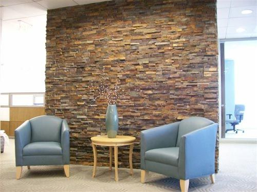 Interior Rock Wall Interior Concept Interior Decor