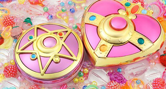 Coton Candy~ 「Japan, Gal Fashion and Make-up blog」: Sailor Moon R Moonlight ☽ Crystal mirror