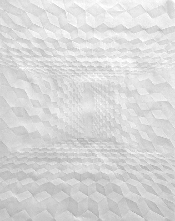 Simon Schubert - Paper works - Architetture di carta
