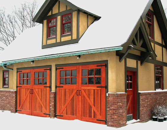 Craftsman Black Barn And Exterior Barn Doors On Pinterest