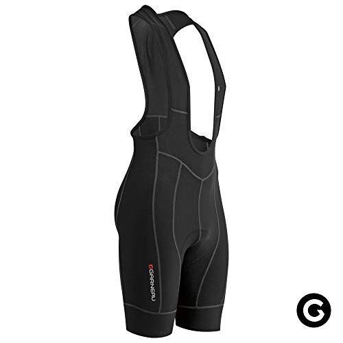 Mens Fit Sensor 2 Cycling Bib Padded and Breathable Compression Bike Shorts Louis Garneau