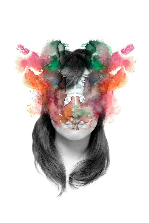 Blurred Faces by Yujiro Tada - Ceegee, blog graphisme et inspiration