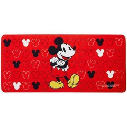 Mickey Mouse Red Non Slip Rubber Bathroom Tub Mat Bath