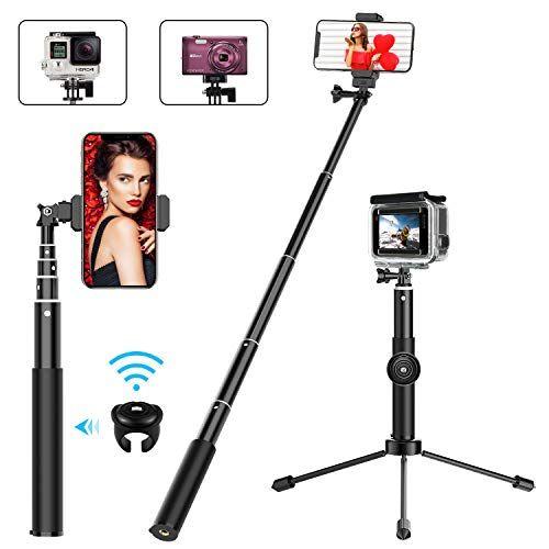 Bovon Perche Selfie 2 en 1 Extensible Bluetooth Selfie Stick