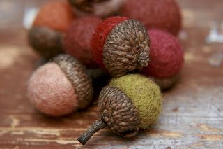 felty acorns--do I have to wait for fall?!